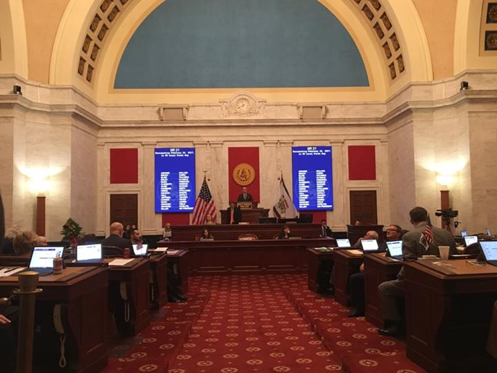 It was an honor to be on the floor of West Virginia Senate today as Local Food D…