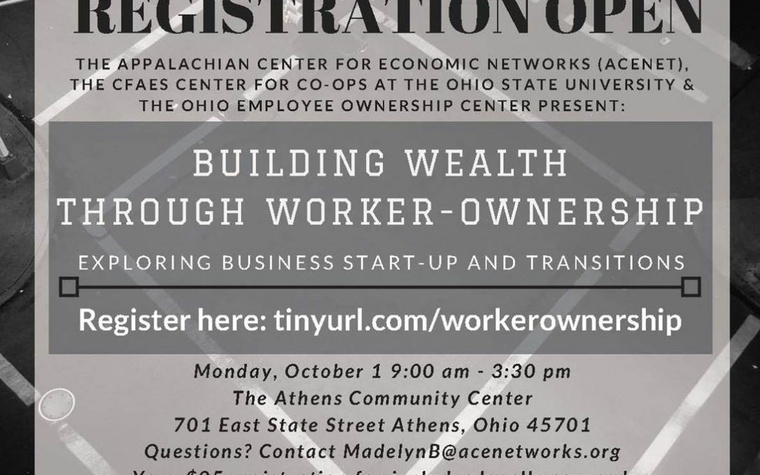 Building Wealth Through Worker Ownership